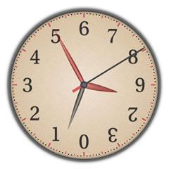 Dozenal Clock